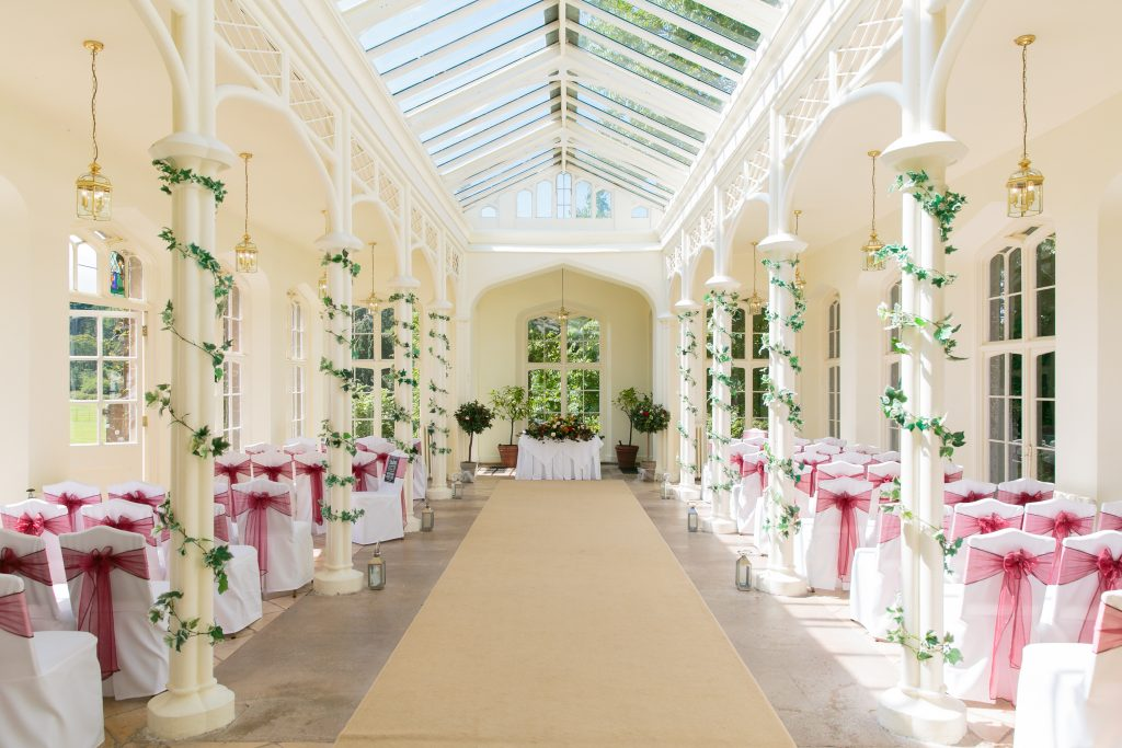 St Audries Park - Orangery Interior (West)